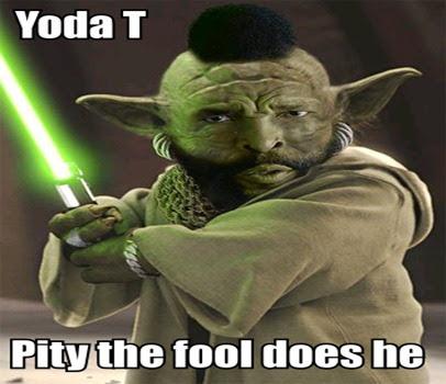 It's good to mock: Yoda T